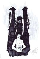 Kelley jones - Sandman /  Death Comic Art